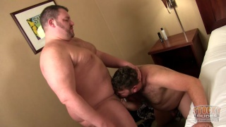 colt and mack at stocky dudes