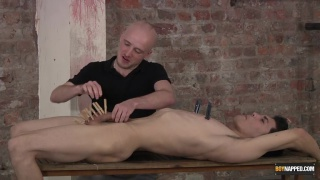 kieron plays with his hung sub at boynapped