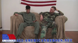 army man JD fucks alex at all-american heroes