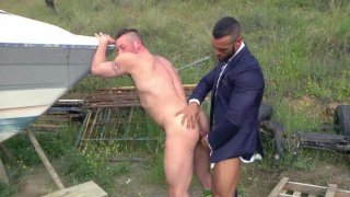 DENIS VEGA & HUGH HUNTER at men at play