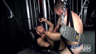 Bareback Leather Fuckers at naked sword