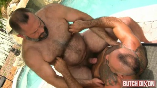 Bo Bangor & Sean Travis at butch dixon