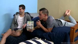 Ethan Slade & Jamie Del Rey at cock virgins