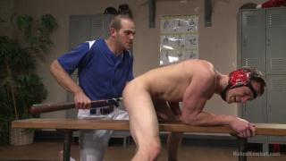 John Smith and Zane Anders at naked kombat