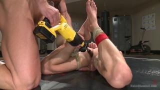 Mitch Vaughn and Ivan Gregory at naked kombat
