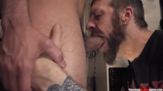 Pete Summers and Dylan Strokes at tim suck