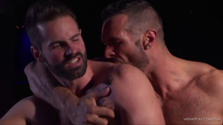 DENIS VEGA & DANI ROBLES at men at play