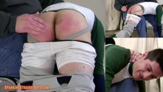 tyler davis over the knees at spanking straight boys