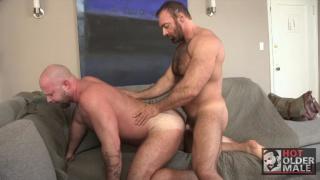 Brad Kalvo and Josh Thomas at hot older male