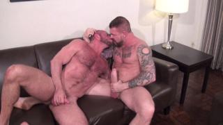 Rocco Steele and Matt Stevens at bareback that hole
