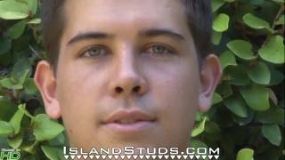 Hung Hawaiian Lifeguard kalani at island studs