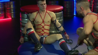Allen King Tied & Bound By Nick North at uk hot jocks
