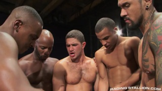 into darkness 6-man gang bang