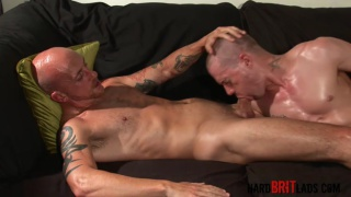 Sam Porter and Seb Evans fucking at hard brit lads