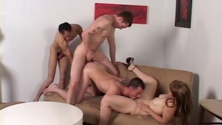 Bi-Bareback Orgy - Part 1