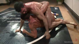 Billy Santoro and Nick Capra at naked kombat