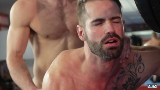Paddy O'Brian and Dani Robles at men.com