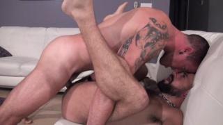 Max Cameron and Jon Shield at bareback that hole