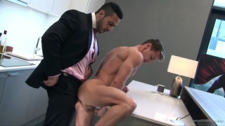 ADAM CHAMP fucks dARIUS FERDYNAND at men at play