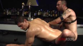 Macanao Torres pounds John Rodriguez at dark alley xt