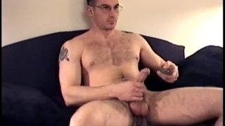 Gianni Jacks Off at str8 boyz seduced