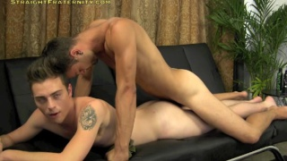 gage and alex fuck at straight fraternity