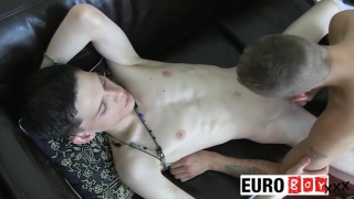Aaron and Steve at euro boy xxx