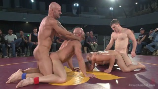 Mitch Vaughn, Doug Acre, Eli Hunter and Tatum at naked kombat