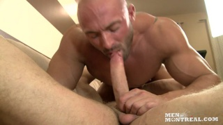 Max Chevalier & Christian Power at men of montreal