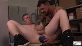 dylan ryder and rocco steele at bulldog pit