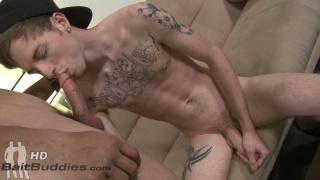 Steve Maine and Bryan Dean at bait buddies