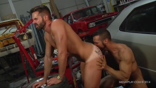 Denis Vega and Dani Robles fuck at men at play