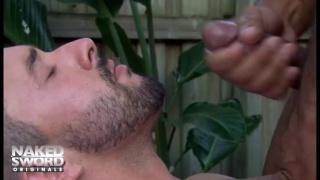 isaac hardy and leo forte in naked sword's bulge