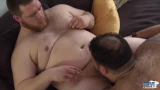 Adam Hill and Kam Coburn at bear films