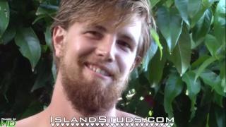 ginger stud Kiefer at island studs