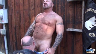 Marc Angelo and Tristan Riant at bear films