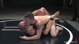 Patrick Rouge and Wolf Hudson at Naked Kombat