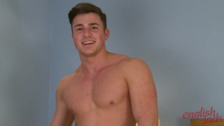 muscled guy teddy at english lads