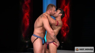 Austin Wolf and Dorian Ferro at hot house
