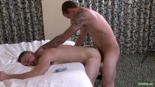Johnny and Brad Davis at Active Duty
