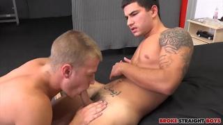 Vadim Black And Jason Sterling Raw at Broke Straight Boys