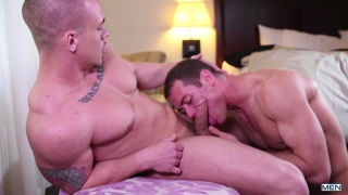 Adam Bryant and Brendan Philips at Drill My Hole