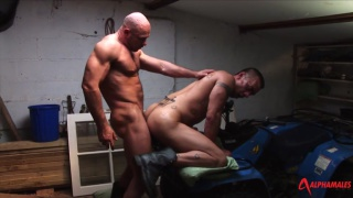 Axel Ryder and Lee Heyford at alpha males