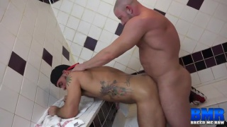 Shay Michaels and Aarin Asker at breed me raw