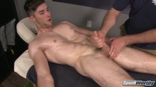 Garrett's massage at spunkworthy