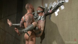 Seamus O'Reilly and Damien Michaels at Bound Gods