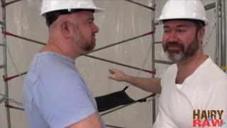 Guy English and Joe Hardness at hairy and raw