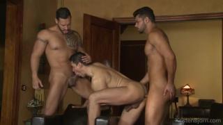 Viktor Rom, Lucas Fox, John Rodriguez at kristen bjorn