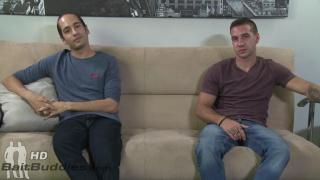 Dimitri Kane and Marc Antoine at bait buddies