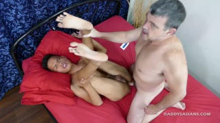 Daddy And The Cock Rider at Daddys Asians